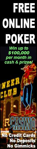 Play online poker 4 FREE to win cash and prizes